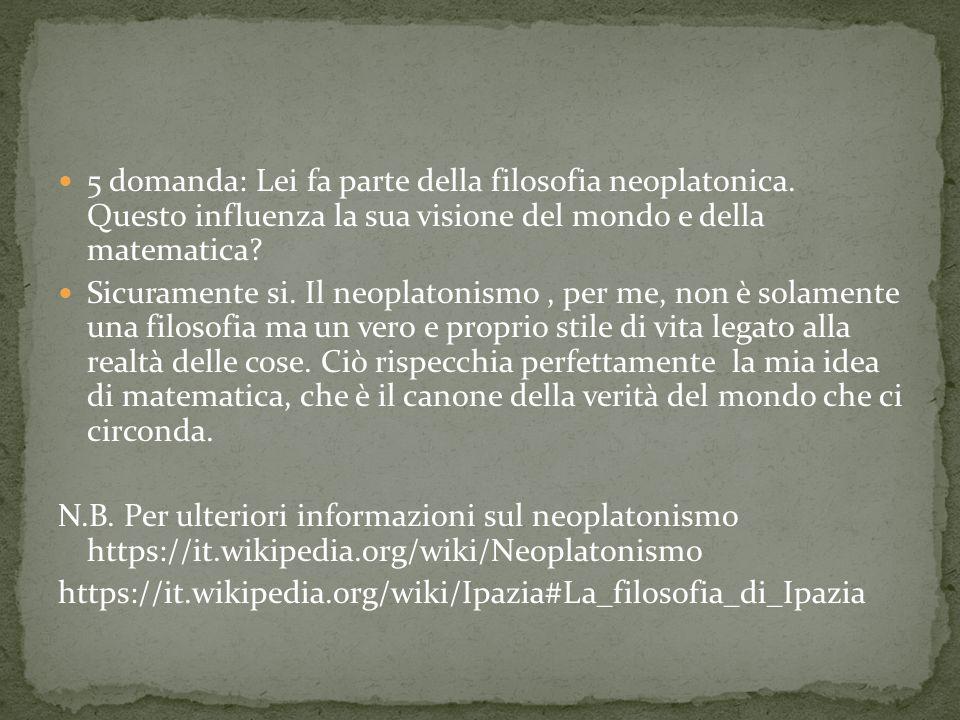 Prof.ssa Ronchey: seminario su Ipazia https://www.youtube.com/watch?v=QjNWCF3QkVw https://www.youtube.com/watch?v=C_yYLIr8vyg