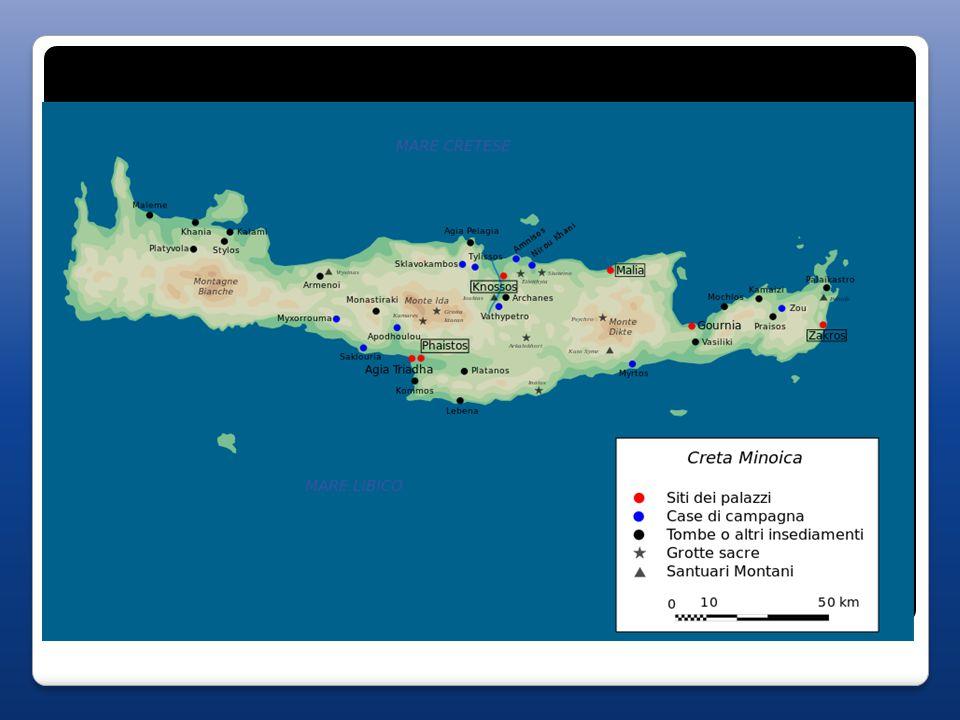 Civiltà micenea (1600-1200 ca) - i Micenei, o Achei, si sostituiscono ai Cretesi in tutto il Mediterraneo orientale (si stabiliscono anche nel palazzo di Cnosso a Creta fino al 1400); - si espandono fino a Rodi, la Troade, Cipro, Siria, Mesopotamia, Egitto, Fenicia, Palestina…