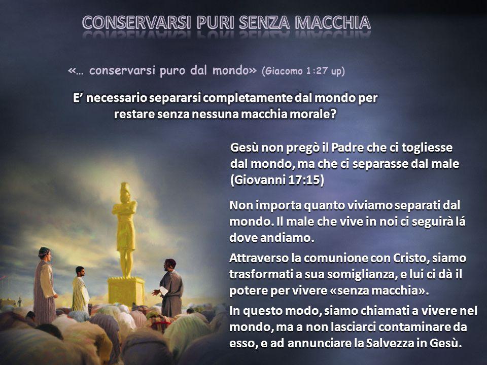 Quelli che sono salvati per grazia saranno facitori della Parola di Dio, poichè hanno riposto la loro fede completamente in lui.