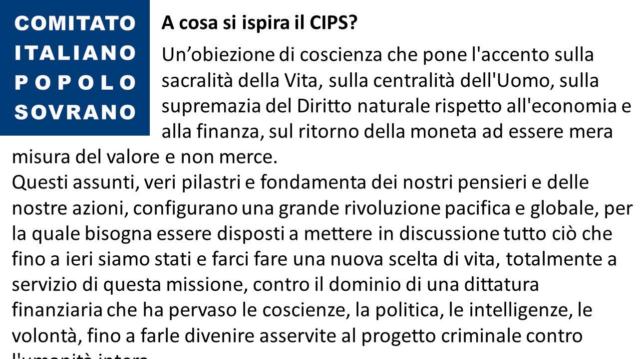 Qual è la priorità del CIPS .