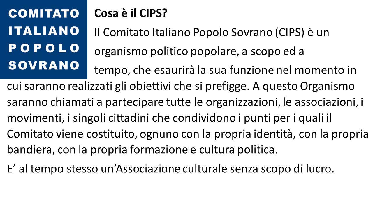Cosa è il CIPS.
