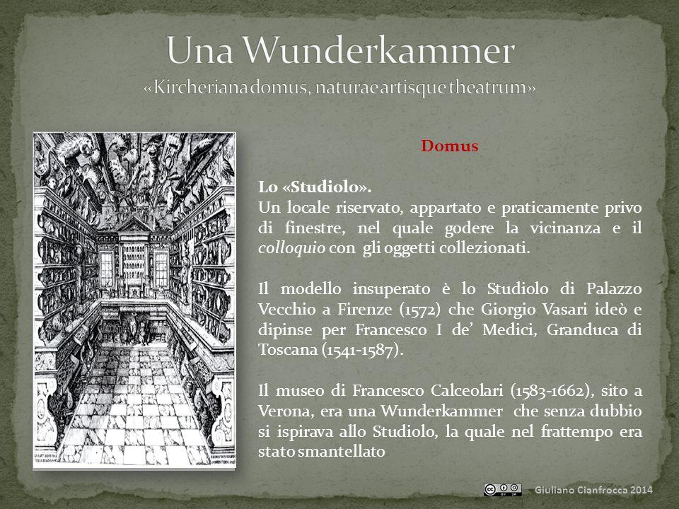 Giuliano Cianfrocca 2014 Domus Lo «Studiolo».