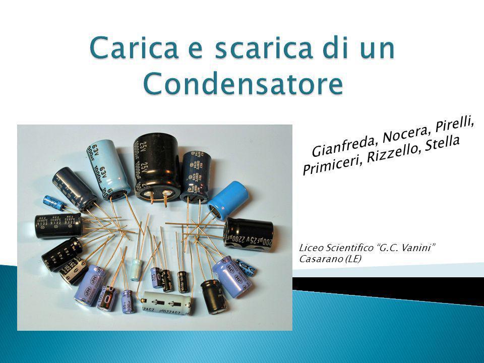 Gianfreda, Nocera, Pirelli, Primiceri, Rizzello, Stella Liceo Scientifico G.C.
