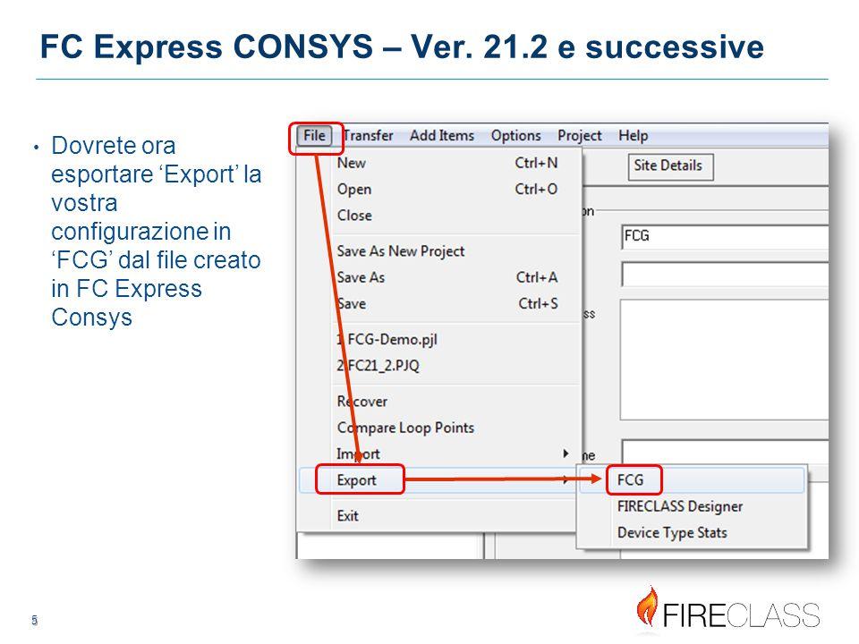 6 6 FC Express CONSYS – Ver.