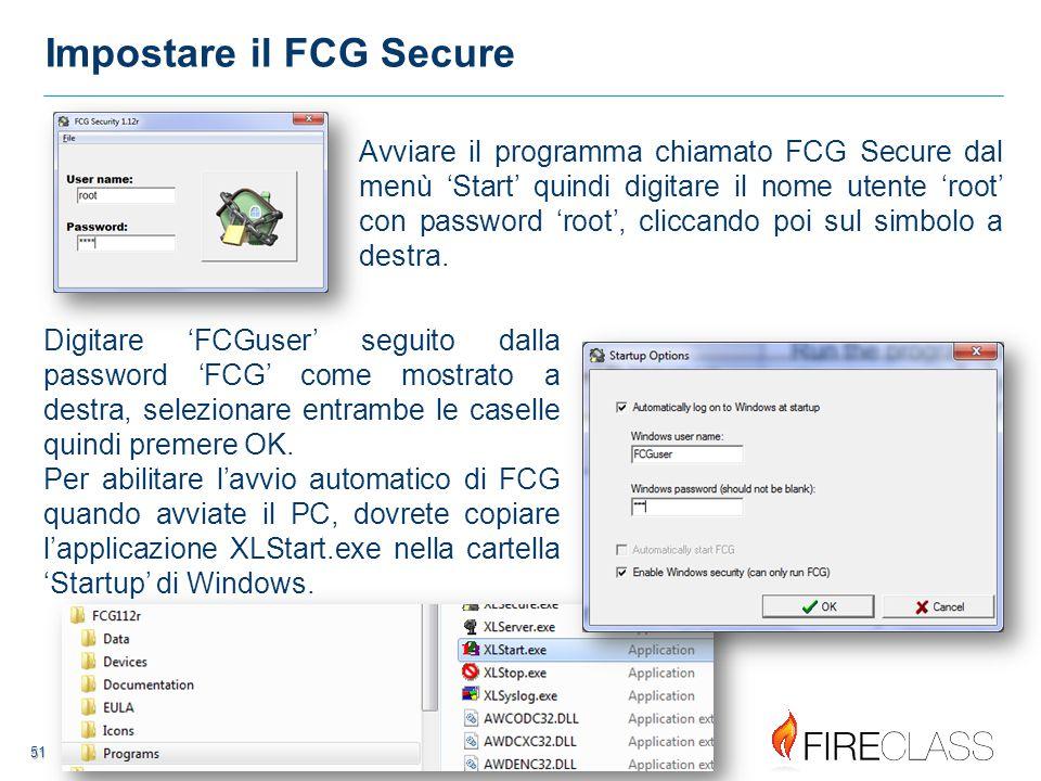 52 52 FCG Secure – Blocco PC Quando un PC è stato bloccato dal programma FCG Secure, l'operatore non sarà in grado di avviare qualsiasi altra applicazione che non sia FCG, nemmeno entro 'Windows Explorer' Il messaggio qui sotto appare quando tenterete di aprire qualsiasi applicazione non-FCG