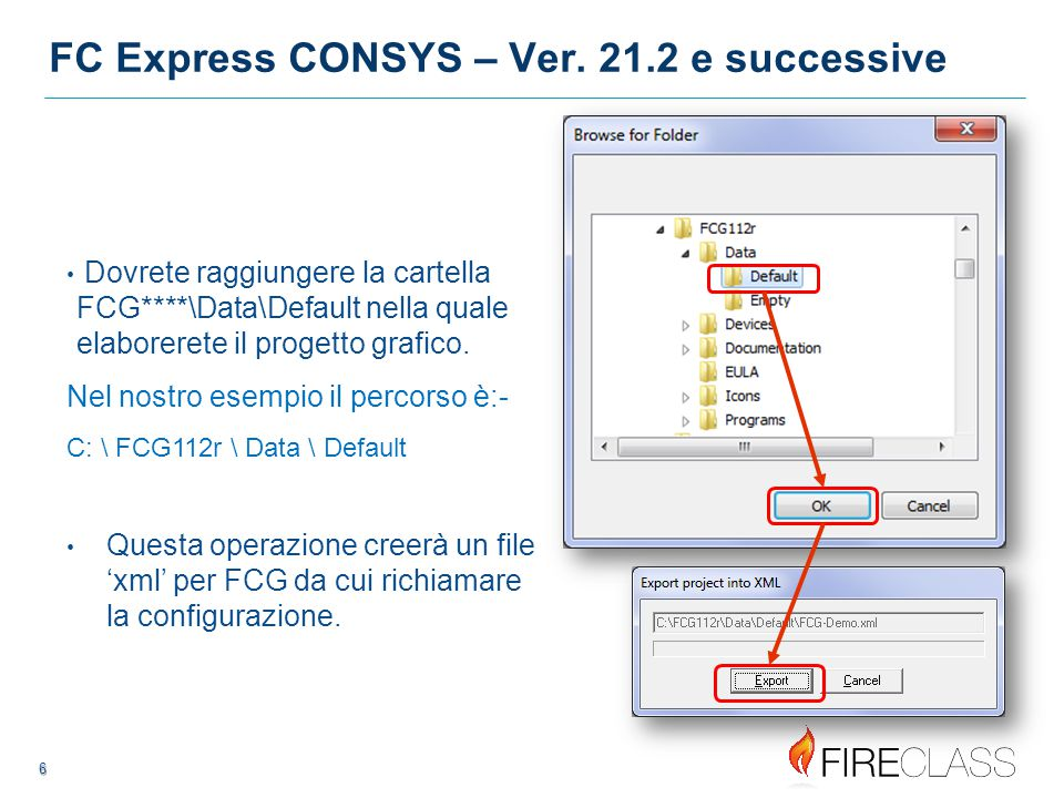 7 7 Aprire le applicazioni FCG E' MOLTO importante che le applicazioni vengano aperte nella sequenza corretta.