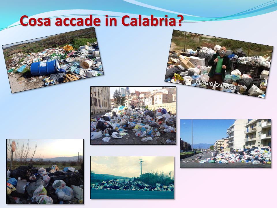 Cosa accade in Calabria