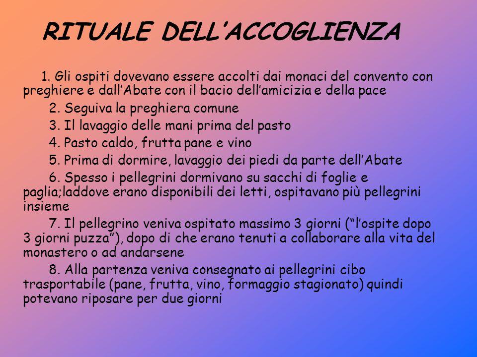 RITUALE DELL'ACCOGLIENZA 1.