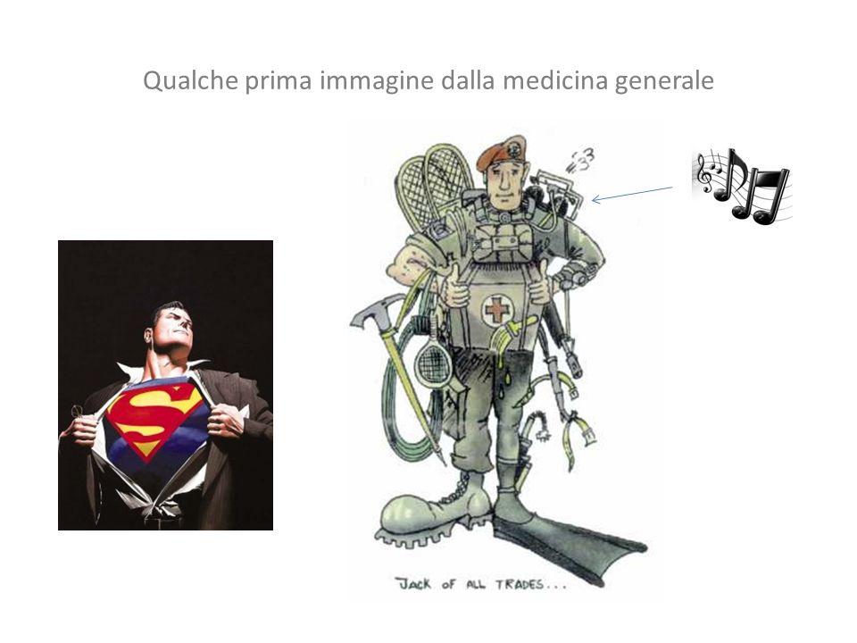 Qualche prima immagine dalla medicina generale