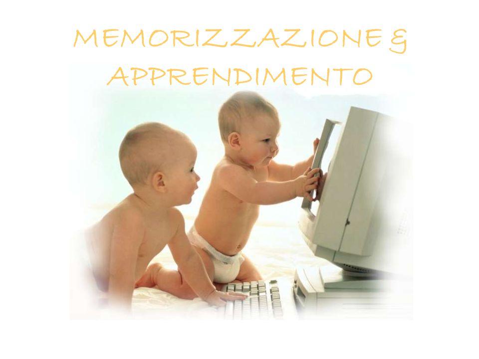 MEMORIZZAZIONE & APPRENDIMENTO