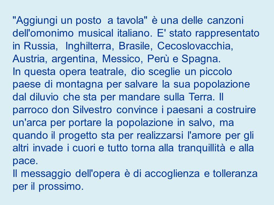 Anno: 1974 Autore: Pietro Garinei, Sandro Giovannini, Iaia Fiastri, Armando Trovajoli Cantante: Johnny Dorelli
