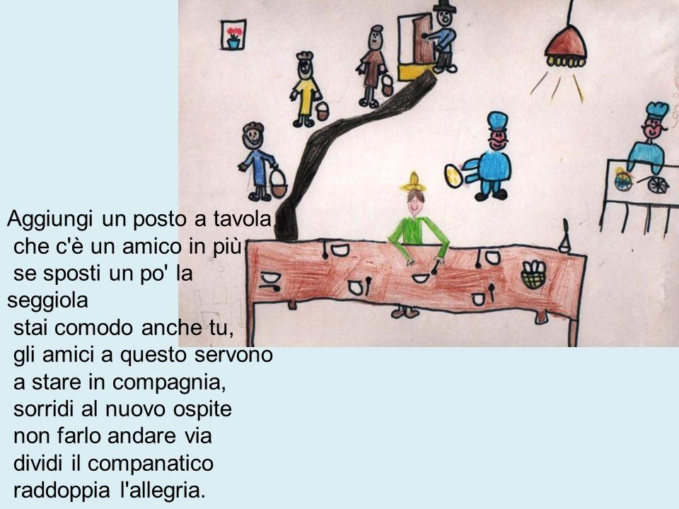 Aggiungi un posto a tavola è una delle canzoni dell omonimo musical italiano.