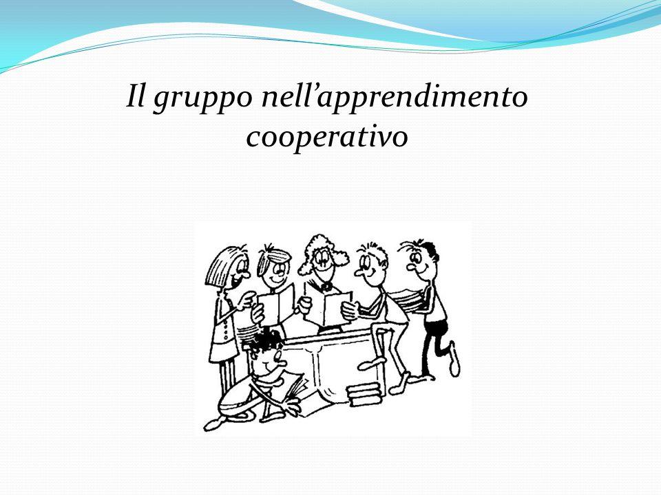 Il gruppo nell'apprendimento cooperativo