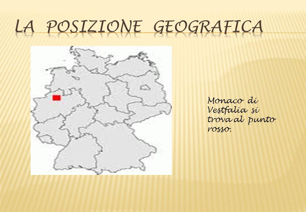 Monaco di Vestfalia si trova al punto rosso.