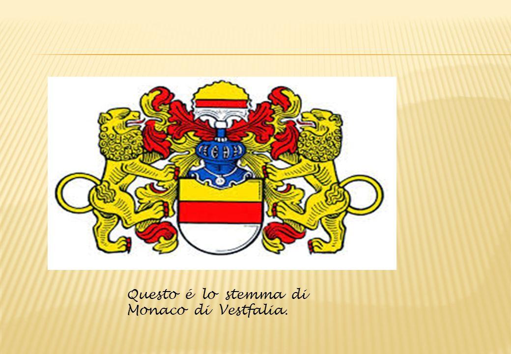 Questo é lo stemma di Monaco di Vestfalia.