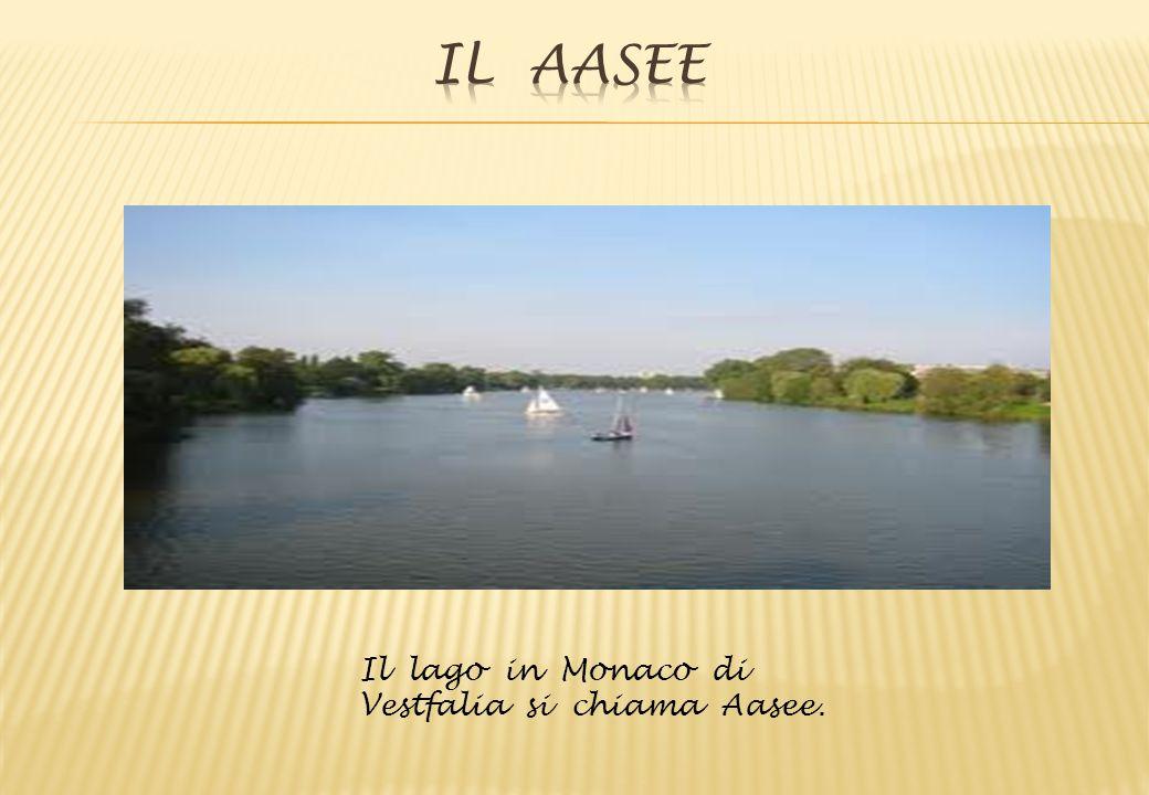Il lago in Monaco di Vestfalia si chiama Aasee.