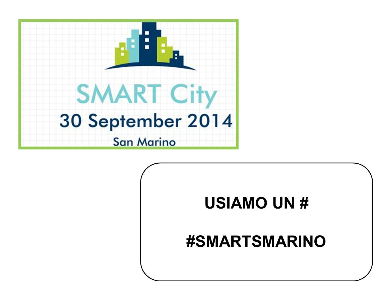 USIAMO UN # #SMARTSMARINO