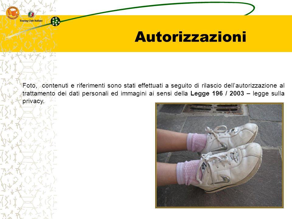 Autorizzazioni Foto, contenuti e riferimenti sono stati effettuati a seguito di rilascio dell'autorizzazione al trattamento dei dati personali ed imma