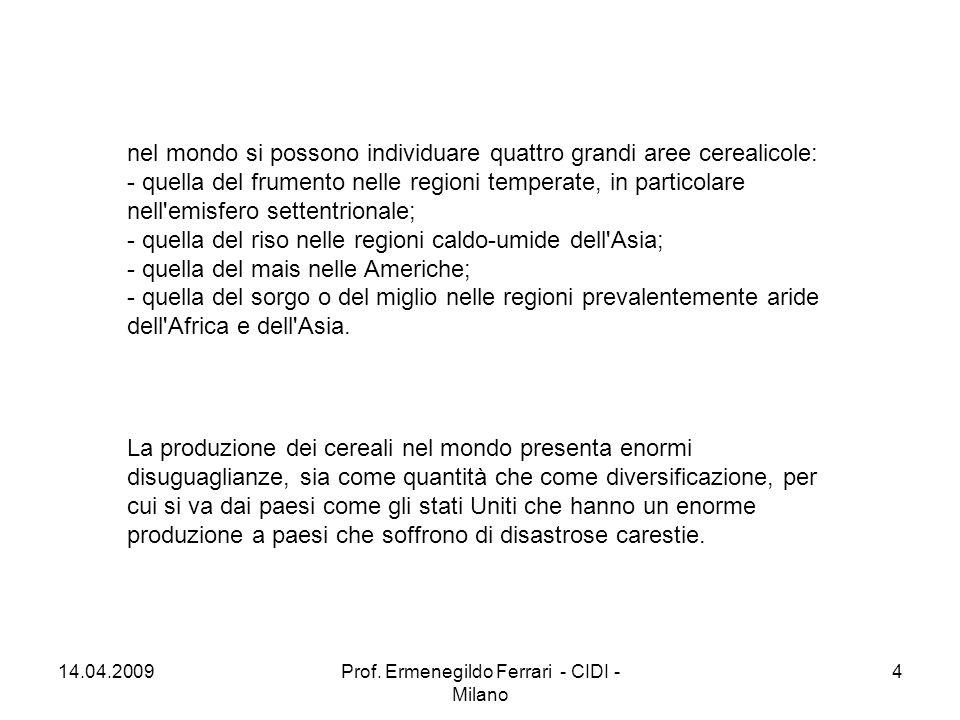 14.04.200915Prof. Ermenegildo Ferrari - CIDI - Milano