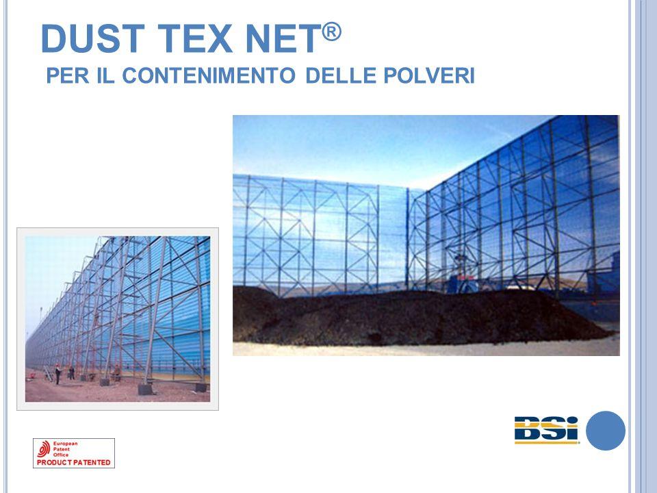 DUST TEX NET ® PER IL CONTENIMENTO DELLE POLVERI