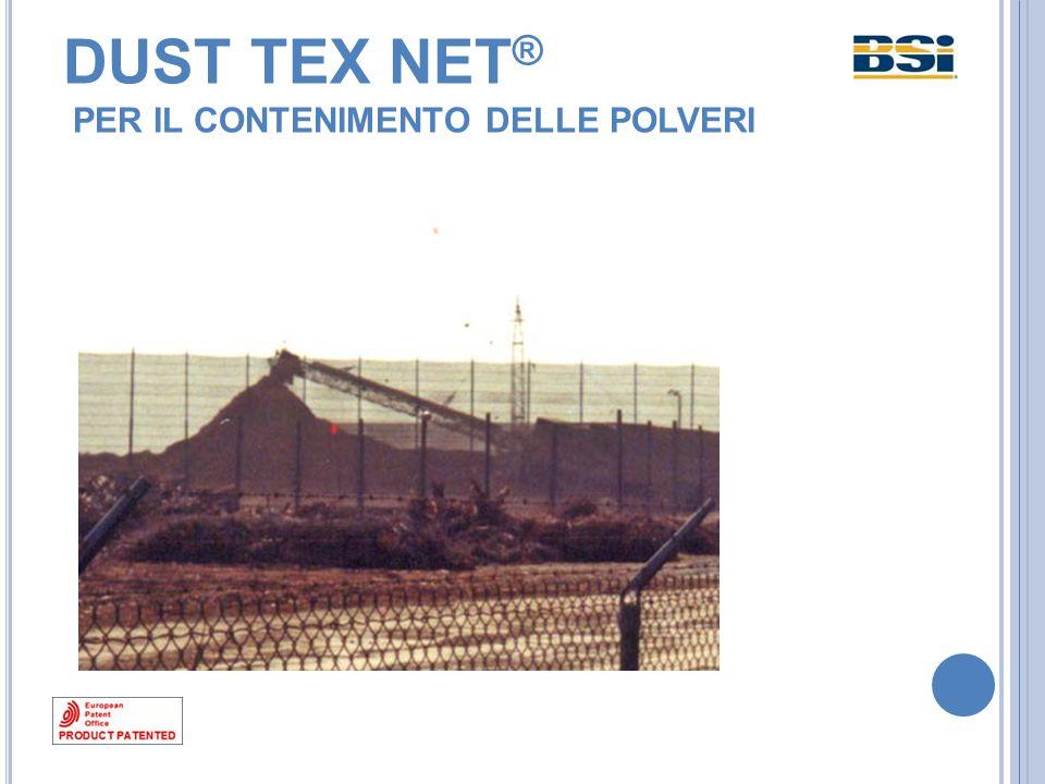 Dust Tex Net effettua una selezione statistica delle particelle trasportate dal vento che molto raramente la impattano esattamente a 90°, ma nella maggior parte dei casi con angolazioni variabili a seconda del vento.
