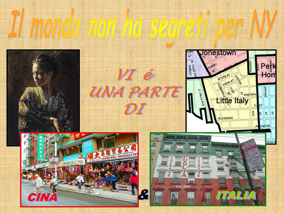 VI é UNA PARTE DI VI é UNA PARTE DI CINA & & ITALIA