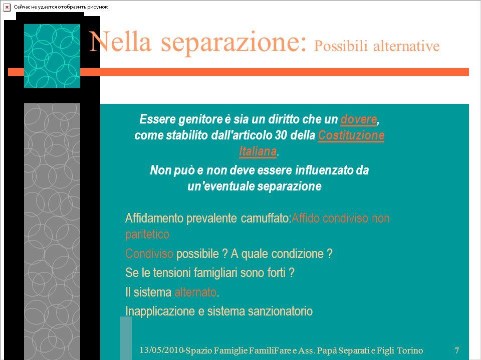 13/05/2010 -Spazio Famiglie FamiliFare e Ass.
