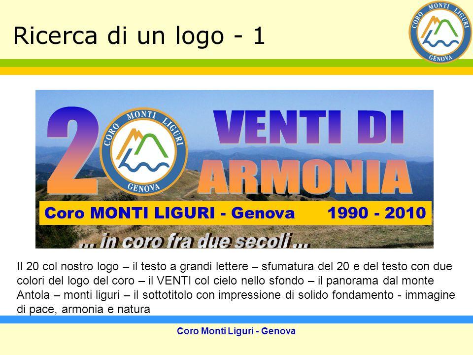 Coro Monti Liguri - Genova Click del 2003