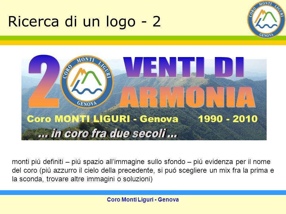 Coro Monti Liguri - Genova Click del 1999
