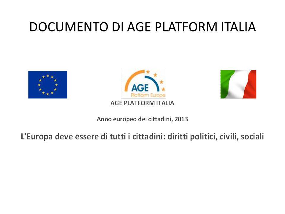 DOCUMENTO DI AGE PLATFORM ITALIA