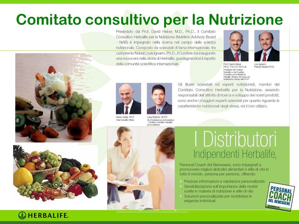 HERBALIFE DISTRIBUTORI INDIPENDENTI Comitato consultivo per la Nutrizione
