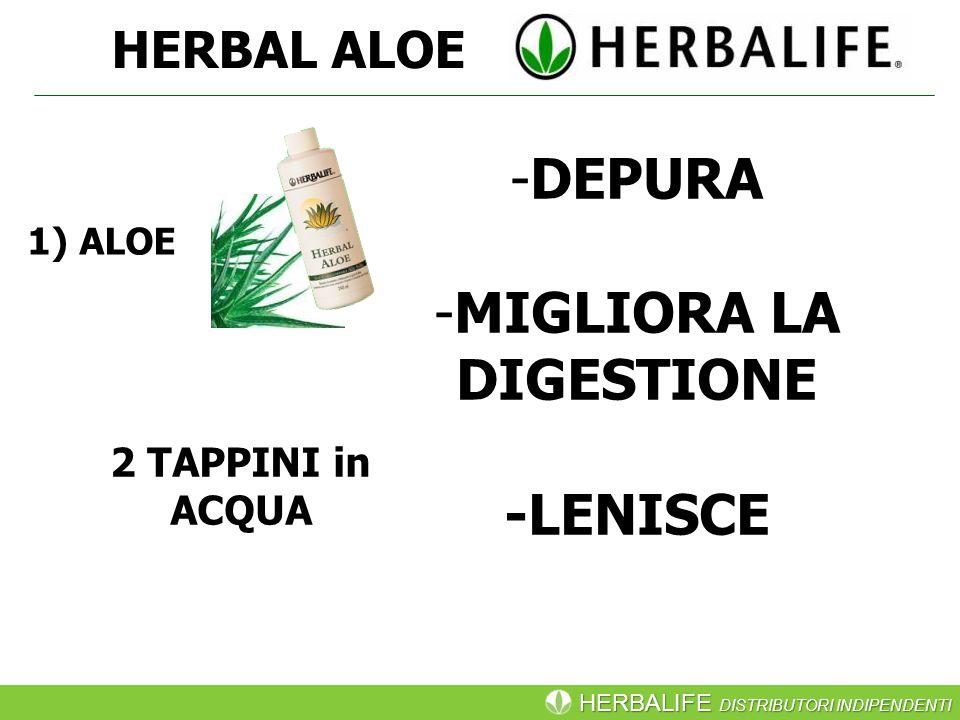 HERBALIFE DISTRIBUTORI INDIPENDENTI 1) ALOE HERBAL ALOE -DEPURA -MIGLIORA LA DIGESTIONE -LENISCE 2 TAPPINI in ACQUA