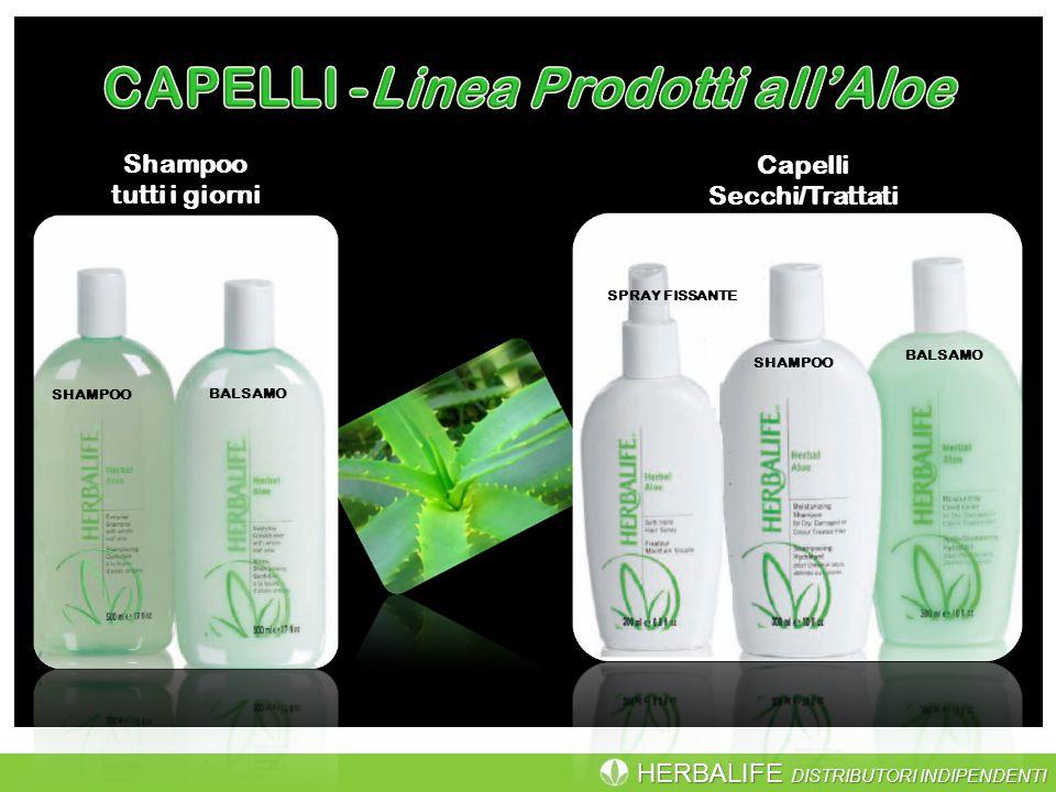 HERBALIFE DISTRIBUTORI INDIPENDENTI SHAMPOO BALSAMO Capelli Secchi/Trattati SHAMPOO BALSAMO SPRAY FISSANTE Shampoo tutti i giorni