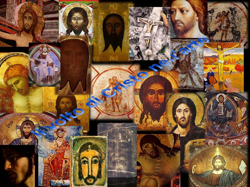 Il volto di Cristo Per molti secoli i Cristiani rappresentano il volto di Cristo nell'arte attraverso Simboli, condizionati sia dall'Ebraismo che vietava l'uso delle immagini, sia dal timore delle persecuzioni.