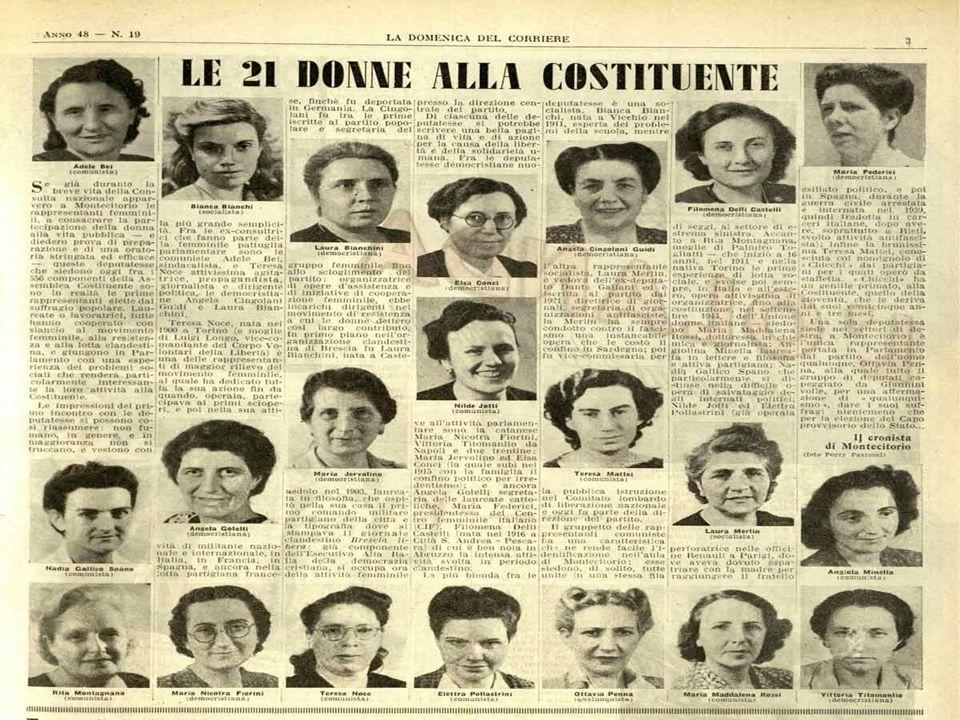 CAPITOLO 2 Le 21 Costituenti