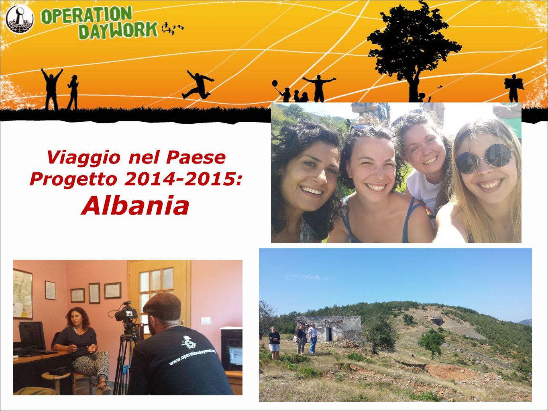 Viaggio nel Paese Progetto 2014-2015: Albania