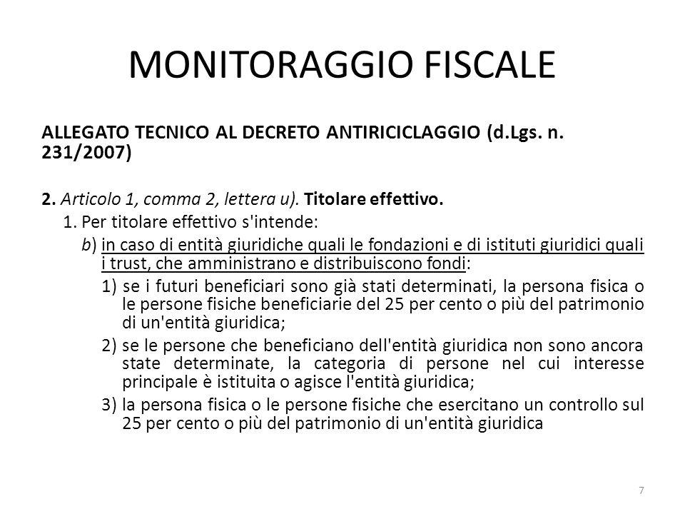 FORMATO E CONTENUTO DELLE RICHIESTE Le richieste nei confronti dei soggetti indicati nell'art.11, commi 1 e 2 del decreto legislativo 21 novembre 2007, n.