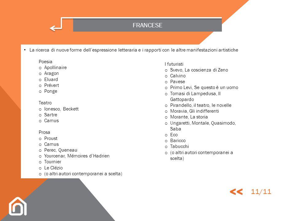 FRANCESE Il Romanticismo o Lamartine, Poésies (a scelta) o Musset, Poésies (a scelta) o Hugo, Poésies (a scelta) o Stendhal, Le Rouge et le Noir, La C