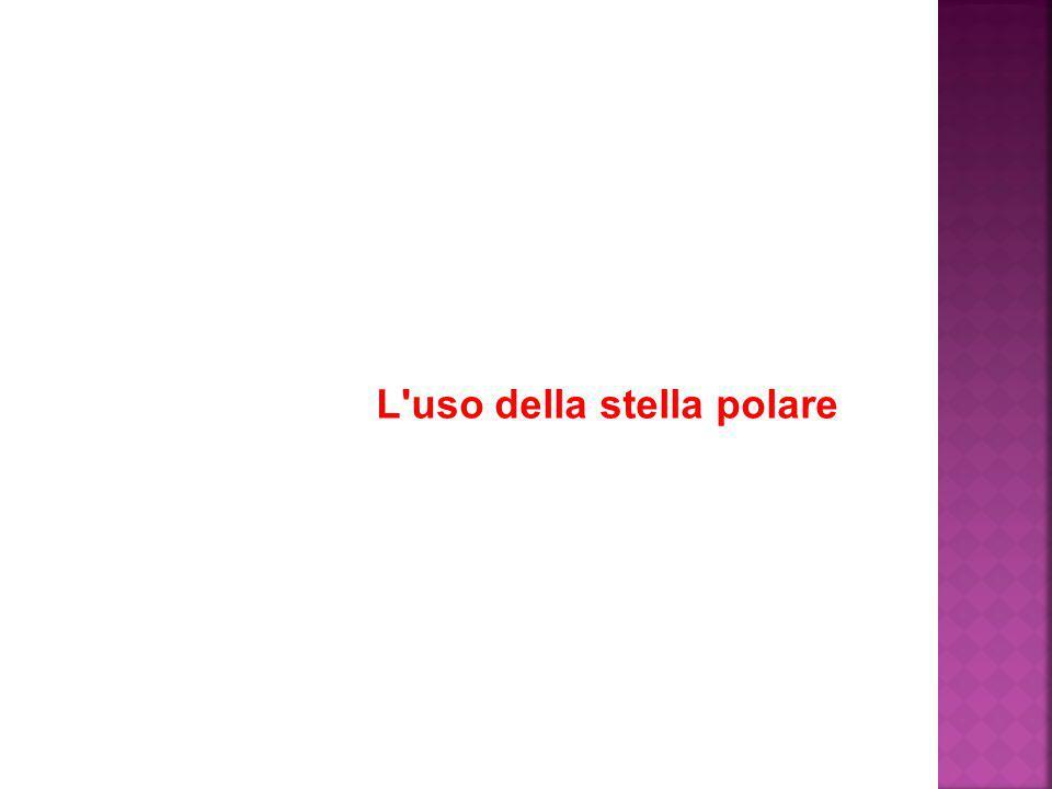 L'uso della stella polare