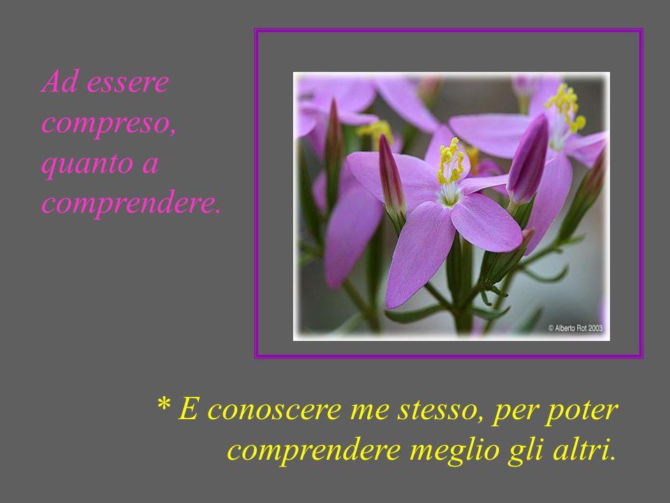 Ad essere consolato, quanto a consolare. * E sappia chiedere e accettare consolazione quando sono nel bisogno.