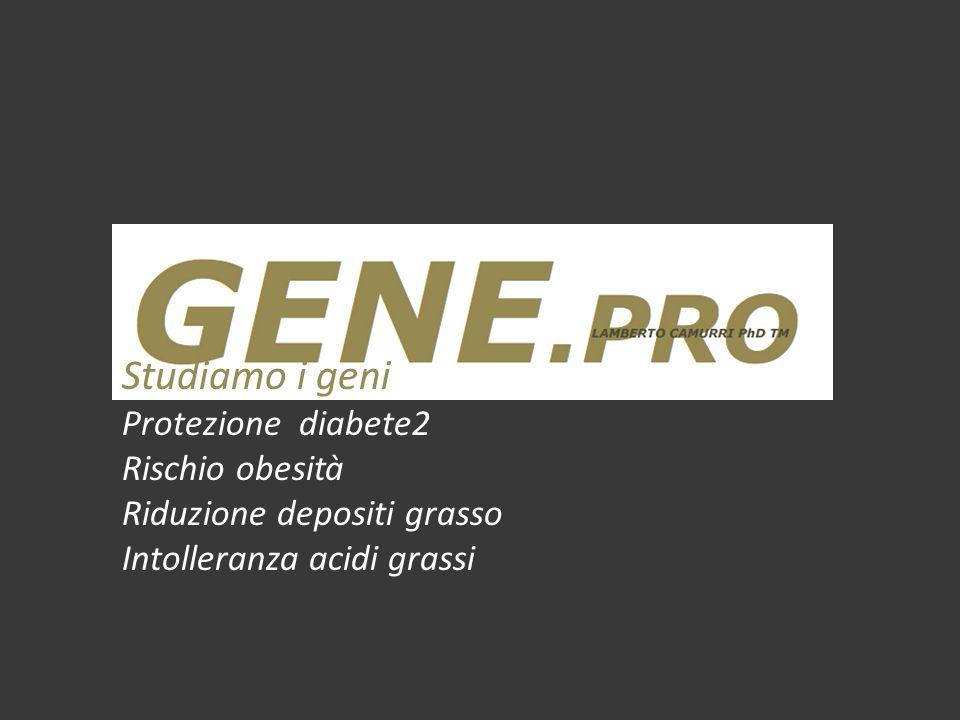 Studiamo i geni Metabolismo e prestazione sportiva Grasso muscolare, insulina, performance Predisposizione prestazione aerobica Bilancio calorico e prestazione sportiva