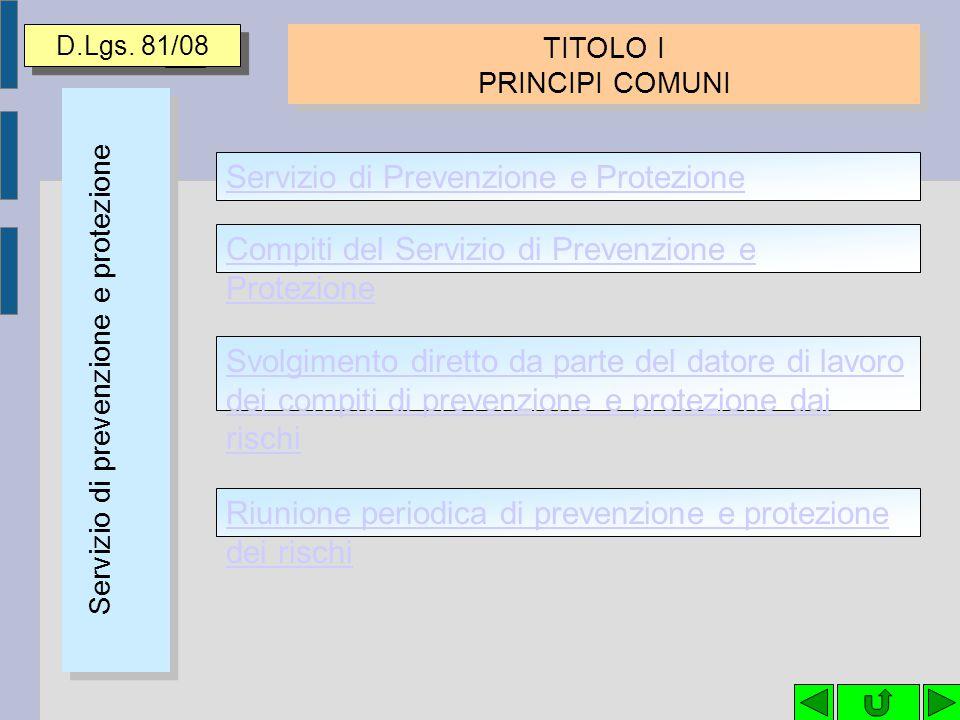 SOGGETTI 81/08LEGGIDURATA Datore di Lavoro autonominato RSPP D.Lgs.