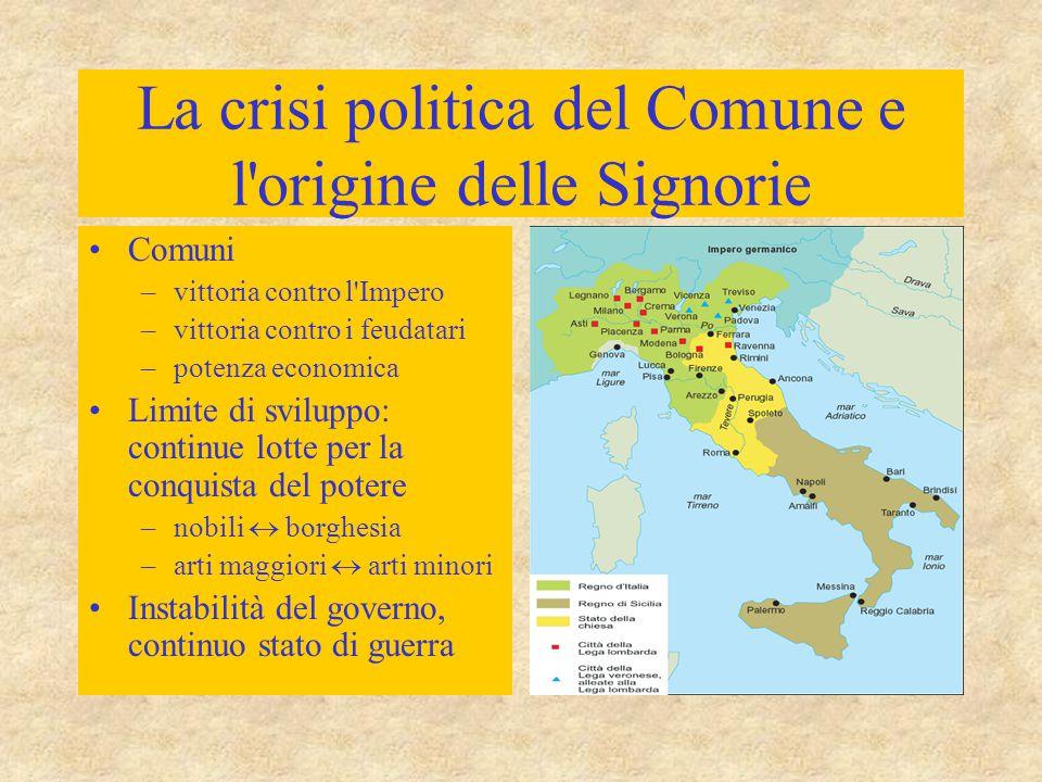 Lotta tra le fazioni in Italia I tiranni sono elevati al potere a voce di popolo e per sua volontà, ma senza alcuna giustificazione legale.