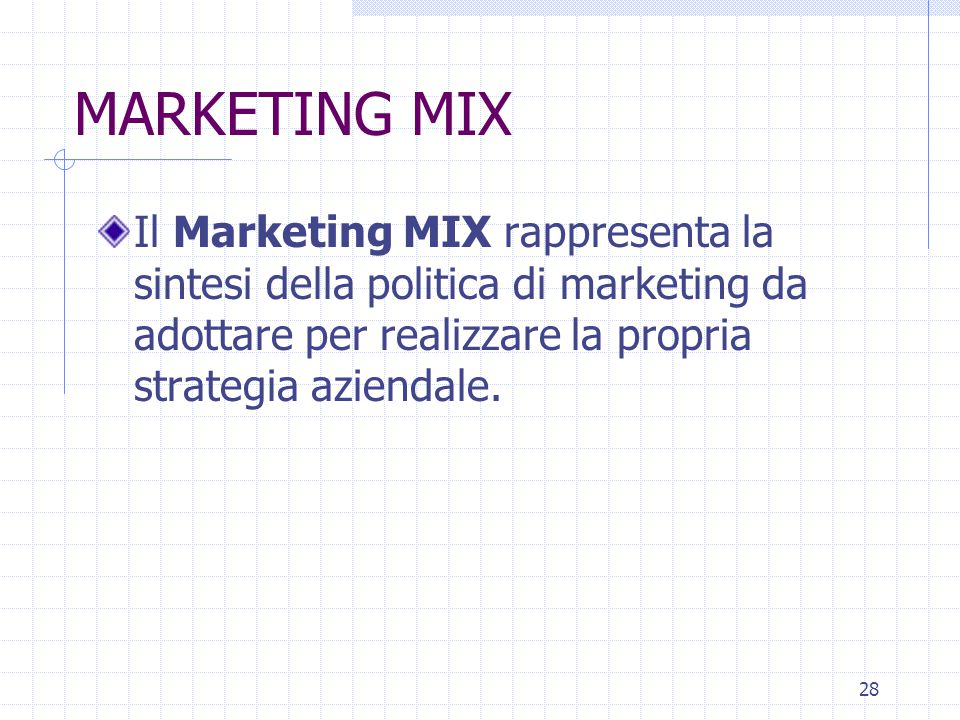 27 LE LEVE DEL MARKETING