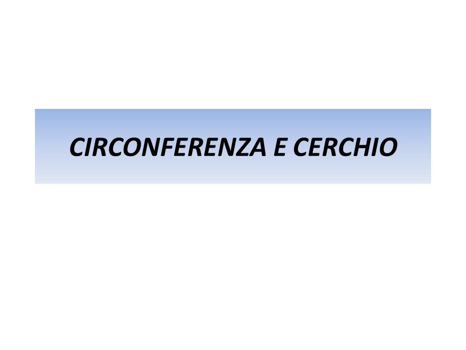 PARTI DI CIRCONFERENZA