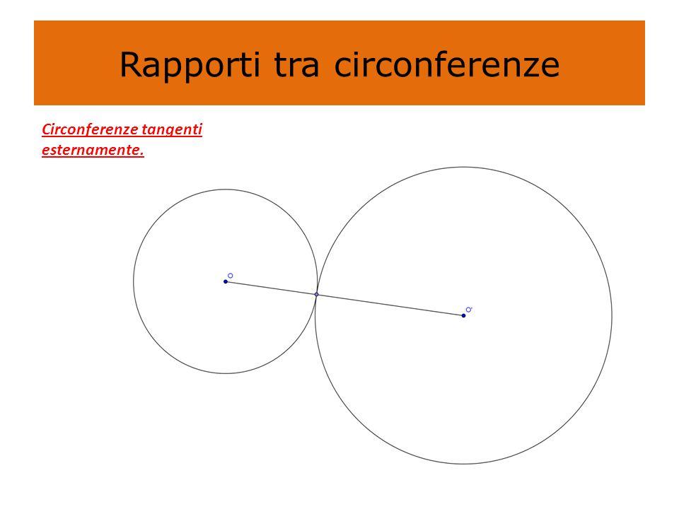 PROPRIETÀ DEGLI ANGOLI AL CENTRO E ALLA CIRCONFERENZA Tutti gli angoli alla circonferenza che insistono sullo stesso arco sono tra loro congruenti In una circonferenza ogni angolo alla circonferenza, che insiste su una semicirconferenza, è un angolo retto Tutti i triangoli aventi un vertice appartenente ad una circonferenza e un lato coincidente con un diametro della circonferenza, stessa sono triangoli rettangoli