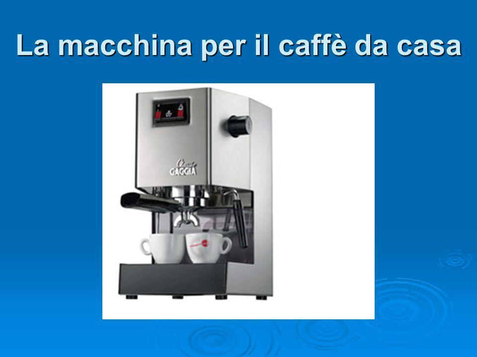 La macchina per il caffè da casa