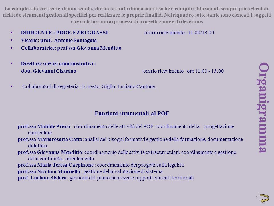 9 Commissioni: 1.Continuità-Orientamento: Prof.Menditto, Golia……………..