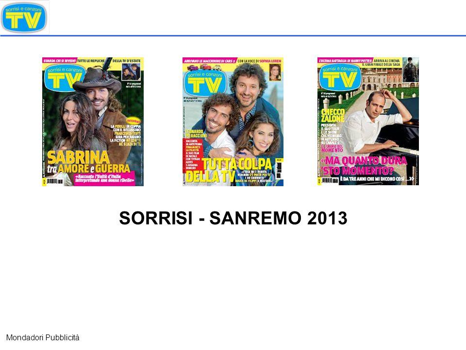 SORRISI - SANREMO 2013 Mondadori Pubblicità
