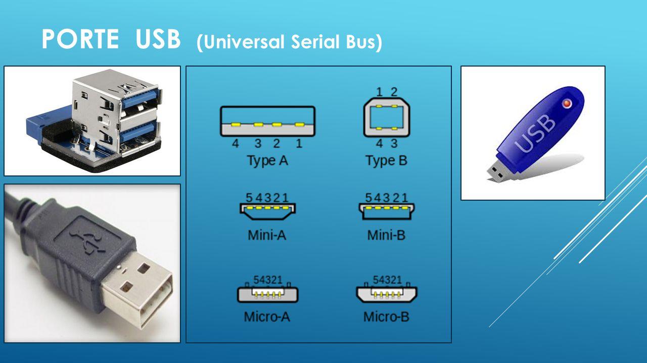 PORTE USB (Universal Serial Bus)